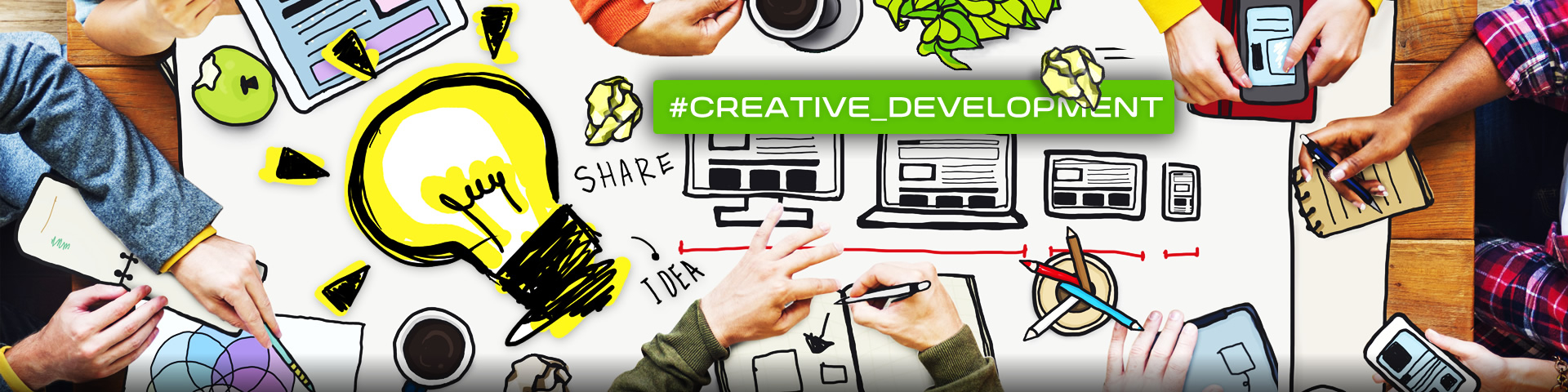#Creative Development